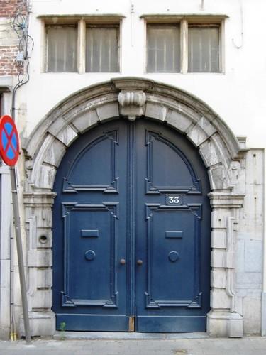 Antwerpen Lange Koepoortstraat 33 poort