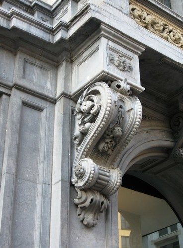 Antwerpen Meir 23-25 balkonconsole