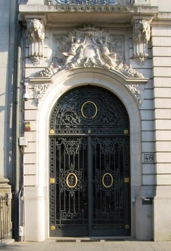 Antwerpen Meir 48 portaal