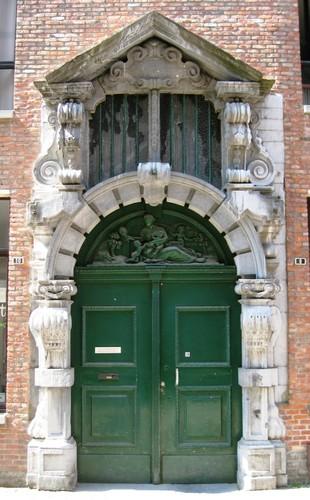 Antwerpen Wisselstraat 8 poort