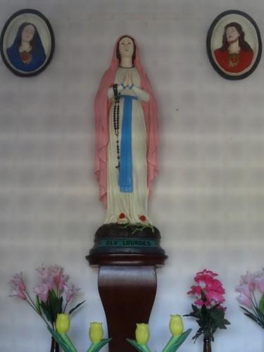 Kortrijk Laatste Oordje 6 Interieur van de kapel
