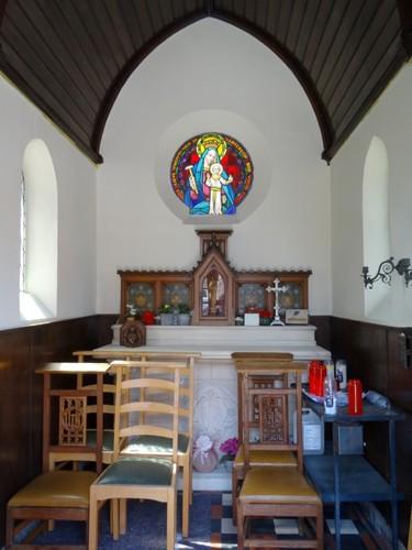 Kortrijk Driekerkenstraat zonder nummer Interieur van de kapel
