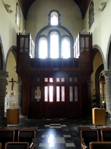 Kortrijk Rollegemplaats zonder nummer Orgel van de parochiekerk Sint-Antonius abt