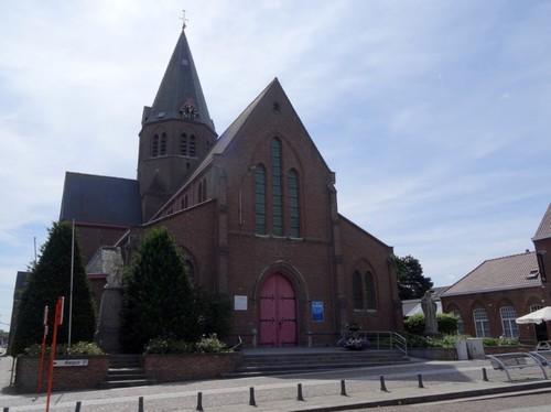 Kortrijk Bissegemplaats zonder nummer Noordzijde van de kerk
