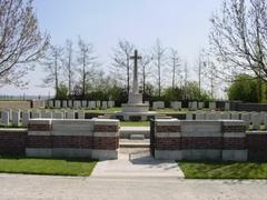 Britse militaire begraafplaats Godezonne Farm  Cemetry