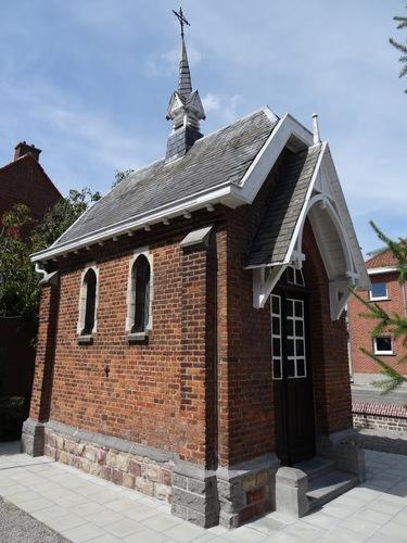 Kortrijk Driekerkenstraat zonder nummer Onze-Lieve-Vrouw-van-de-Harteklopkapel