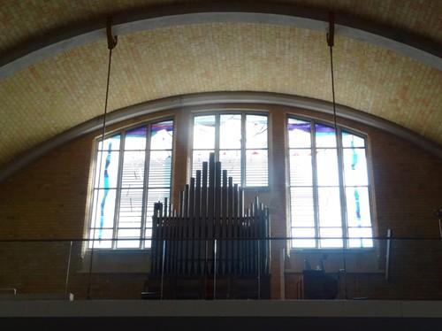 Koksijde Strandlaan 235 Orgel in de Sint-Idesbalduskerk