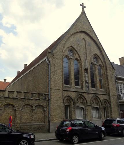 Veurne Sporkijnstraat 8 Zuidwestzijde