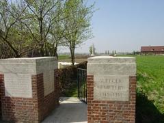 Britse militaire begraafplaats Suffolk Cemetery