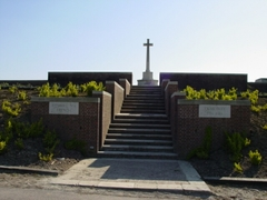 Britse militaire begraafplaats Kemmel No. 1 French Cemetery