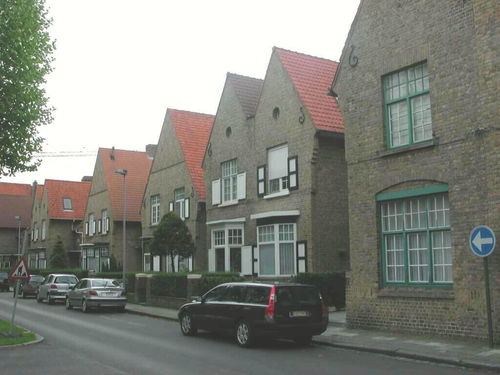 Brugge Christus-Koning Leopold II-laan 108-120, 124-126