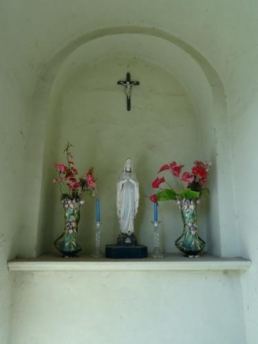 Avelgem Heestertstraat zonder nummer Interieur van de kapel