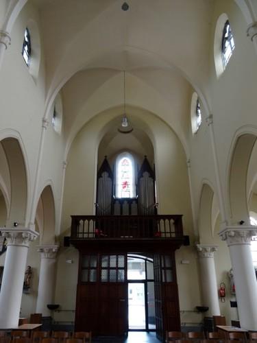 Zwevegem Kerkstraat 1 Orgel van de Sint-Elooiskerk