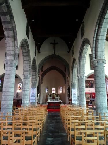 Zwevegem Kerkeberg zonder nummer Interieur van de Sint-Dionysius en Sint-Genesiuskerk