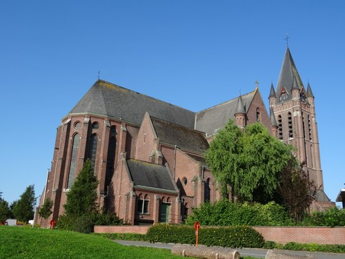 Avelgem Daniël Vermandereplein zonder nummer Sint-Martinuskerk oostzijde