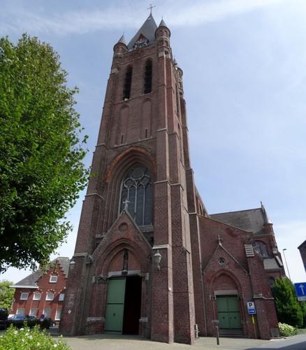 Avelgem Daniël Vermandereplein zonder nummer Sint-Martinuskerk westzijde