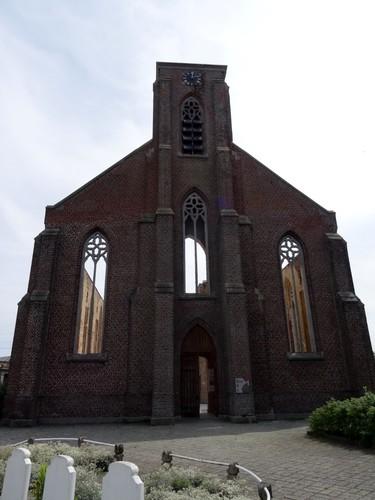 Avelgem Doorniksesteenweg zonder nummer Sint-Amelbergakerk noordwestzijde