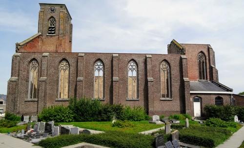 Avelgem Doorniksesteenweg zonder nummer  Sint-Amelbergakerk zuidwestzijde