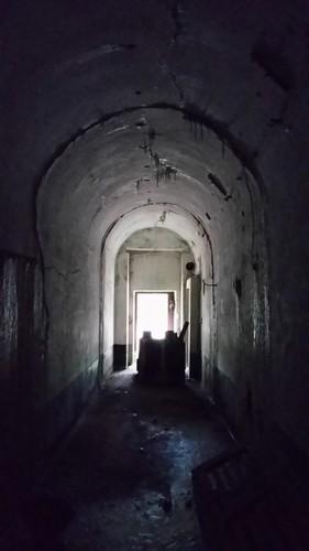 Ranst, Goorstraat, Fort Oelegem: hoofdfront uitgang naar binnenplaats