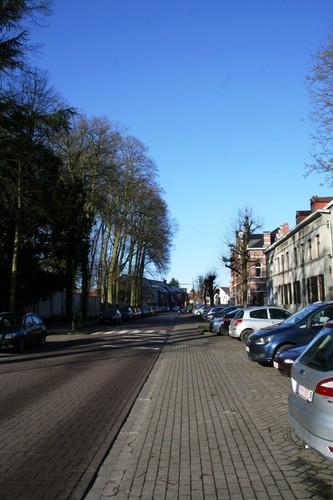 Meise Brusselsesteenweg straatbeeld