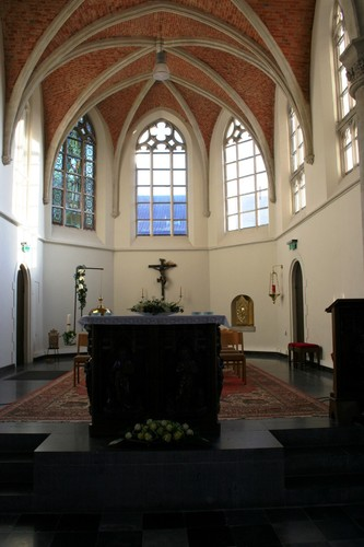 Meise Brusselsesteenweg 1 Sint-Martinuskerk interieur