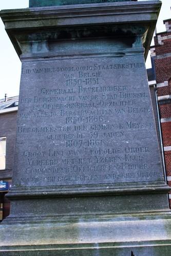 Meise Oudstrijdersplein standbeeld