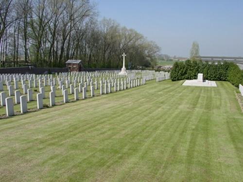 Kemmel: La Laiterie Military Cemetery: overzicht