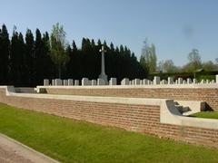 Britse militaire begraafplaats Lindenhoek Chalet Military Cemetery