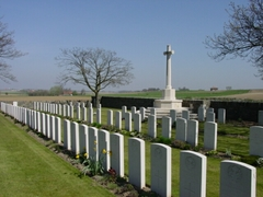 Britse militaire begraafplaats Irish House Cemetry