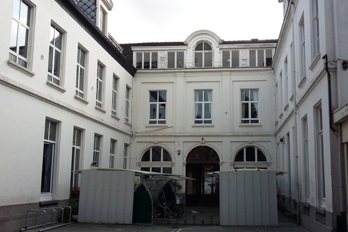 Antwerpen Sint-Jacobsmarkt 43 tuingevel