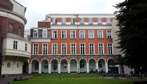 Antwerpen Korte Nieuwstraat 33 tuingevel