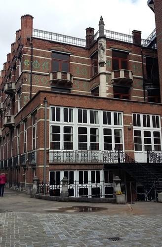 Leuven Vesaliusstraat: Sint-Jozefhuis (1908)
