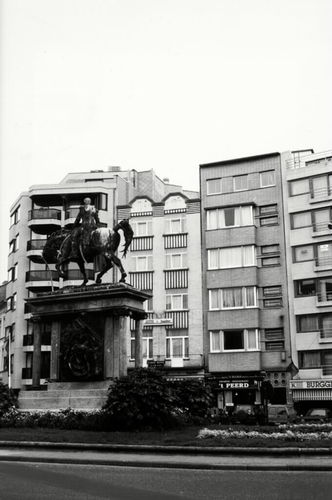 Oostende Leopold I-plein z.nr. Beeld