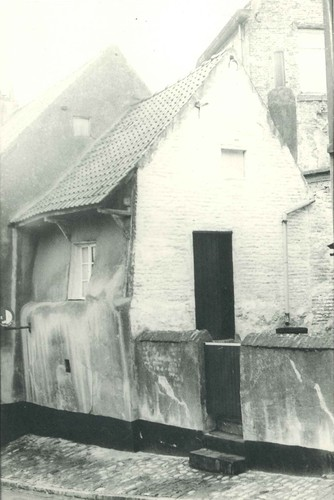 Beersel Alsemberg Pastoor Bolsstraat 27 arbeidershuisje