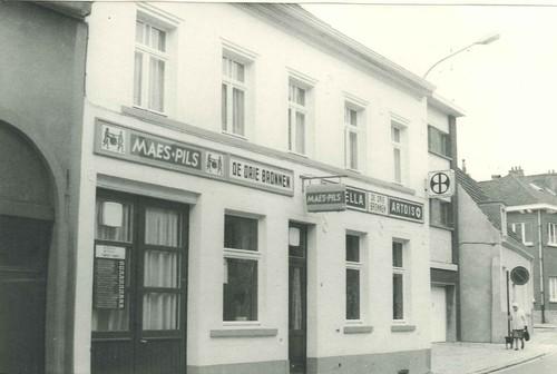 Beersel Hoogstraat 13 Café De Drie Bronnen