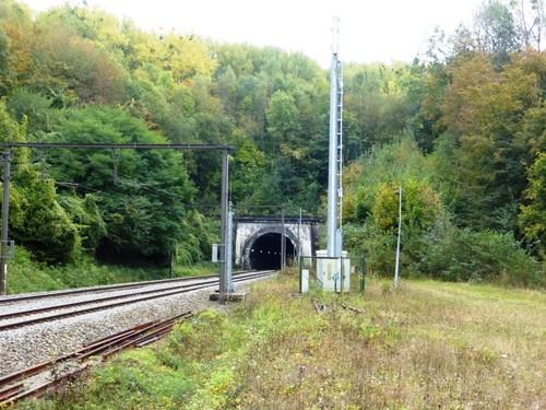 Voeren Boenderberg spoorwegtunnel