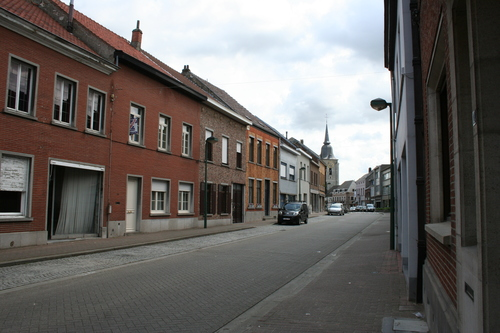 Langesteenweg straatbeeld oneven