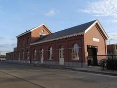 Deerlijk Stationsplein zonder nummer Noordwestzijde van het station (https://id.erfgoed.net/afbeeldingen/275501)