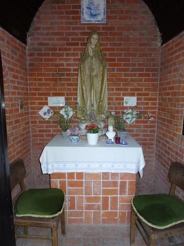 Deerlijk Roterijstraat 18 Interieur van de kapel