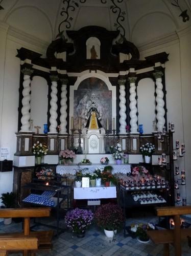 Sint-Truiden Bruine-Lieve-Vrouwstraat zonder nummer Interieur van de kapel