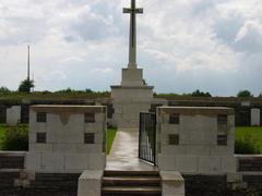 Britse militaire begraafplaats Locre No.10 Cemetery