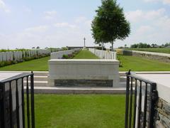 Britse militaire begraafplaats Locre Hospice Cemetery