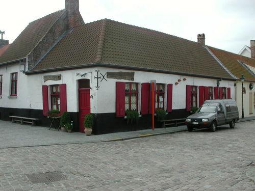 Zuienkerke Kerkhofstraat 17 Herberg Drie Koningen