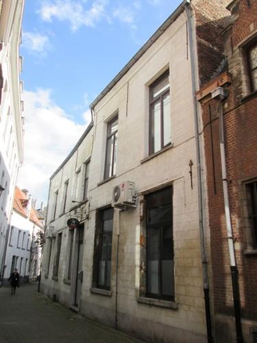 Mechelen Nieuwwerk 7  Zijde Schoolstraat