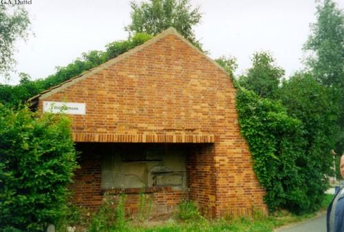 Duffel Beukheuvel 41 bunker ingekapseld