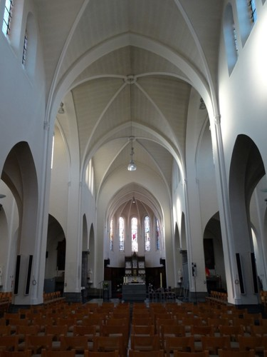 Menen Lauweplaats zonder nummer Sint-Bavokerk interieur