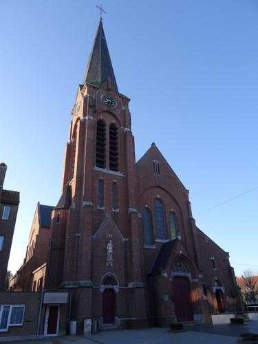 Menen Lauweplaats zonder nummer Sint-Bavokerk noordoostzijde
