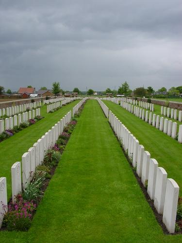 De Klijte: La Clytte MIlitary Cemetery: overzicht