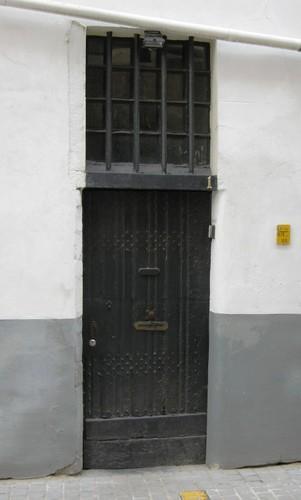 Antwerpen Minderbroedersrui 30 deur