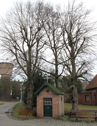 Kasterlee De Maneschijn zonder nummer kapel met linden